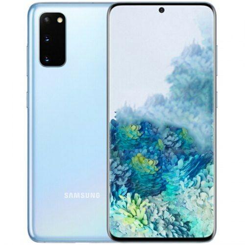 EU ECO Raktár - Samsung Galaxy S20+ 5G 5G Okostelefon 6.7 inch Qualcomm Snapdragon 865 Octa Core 12GB RAM 128GB ROM 12.0MP + 12.0MP + 64.0MP - Kék