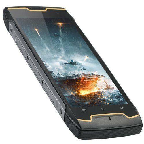 EU ECO Raktár - CUBOT KingKong CS 3G Okostelefon IP68 Android 10 (Go Edition) 5.0 inch MT6580 Quad-Core 1.3GHz 2GB RAM 16GB ROM 5MP + 8MP Kamera - Fekete