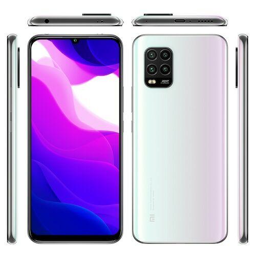 EU ECO Raktár - Xiaomi Mi 10 Lite 5G Okostelefon 6.57 inch Snapdragon 765G 8 Core 48MP + 8MP+2MP+ 2MP 4160mAh Akkumulátorral 6GB RAM 128GB ROM - Fehér