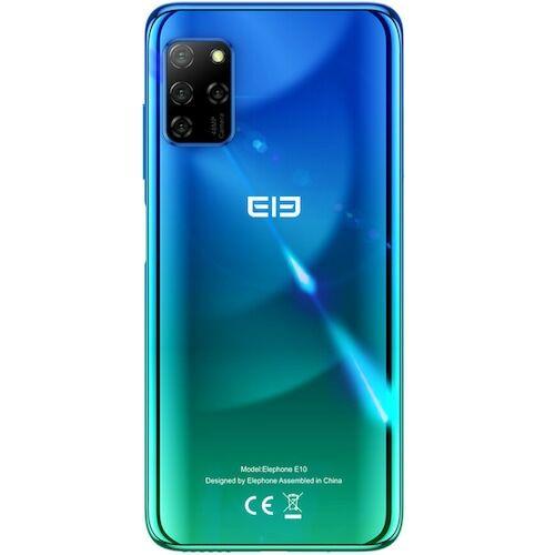 EU ECO Raktár - ELEPHONE E10 4G Okostelefon MT6762D Octa-core 4GB 64GB 6.5 inch Globális verzió - Zöld