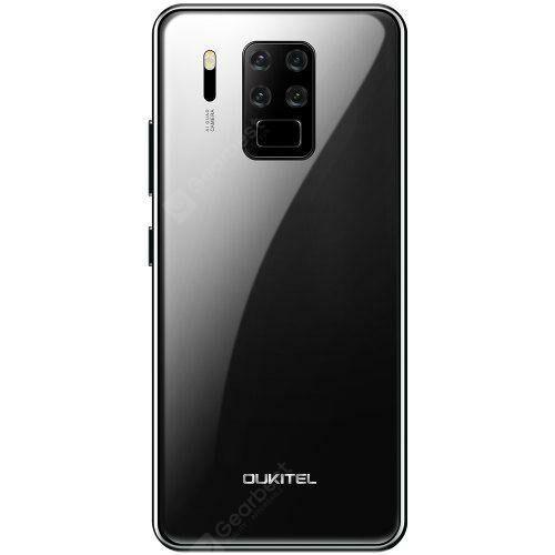 EU ECO Raktár - Oukitel C18 Pro 4G Okostelefon Helio P25 MT6757 6.55 Inch Android 9.0 előlapi Camera 16M + 2M + 8M + 5M - Fekete