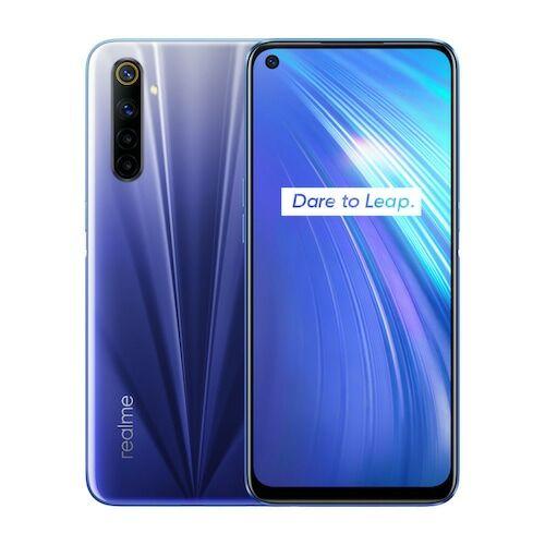 EU ECO Raktár - Realme 6 4G Okostelefon - 8GB 128GB - Kék
