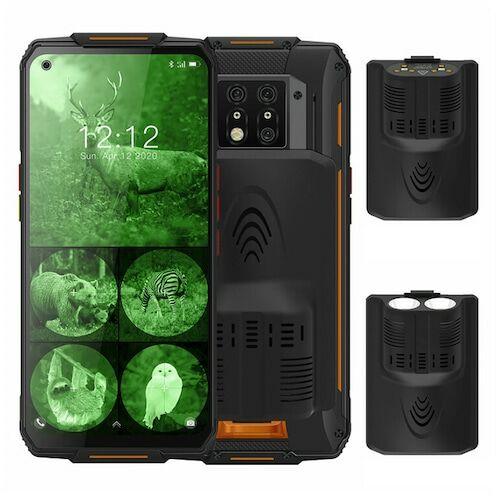 EU ECO Rakátr - OUKITEL WP7 4G Okostelefon MediaTek Helio P90 6.53 inch 48M + 8M + 2M előlapi Camera 16MP Front Camera Android 9.0 8GB RAM 128GB ROM 8000mAh Battery IP68 Vízálló Globális verzió - Narancs