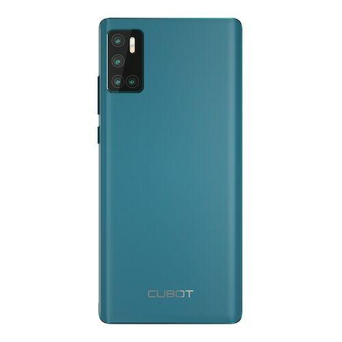 EU ECO Raktár - CUBOT P40 4G Okostelefon MT6761D Quad Core 1.8GHZ 6.2 inch előlapi Camera 12MP PDAF + 5MP + 0.3MP 4200mAh - Világoskék