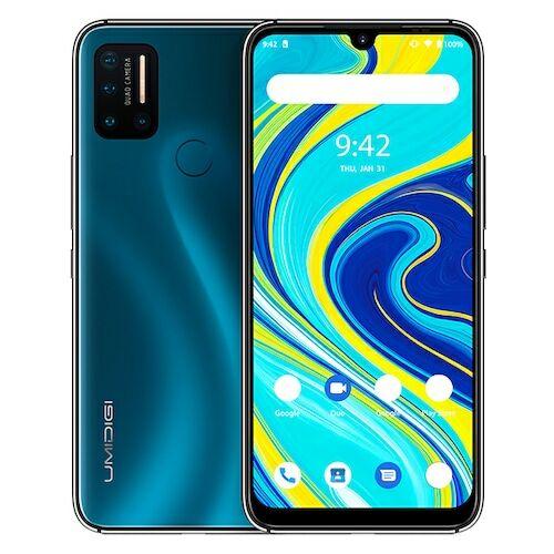 EU ECO Raktár - UMIDIGI A7 Pro 4G Smartphone Helio P23 Octa Core 6.3 inch 16MP + 16MP + 5MP + 5MP előlapi Kamera 4150mAh 4GB RAM 128GB ROM - Kék