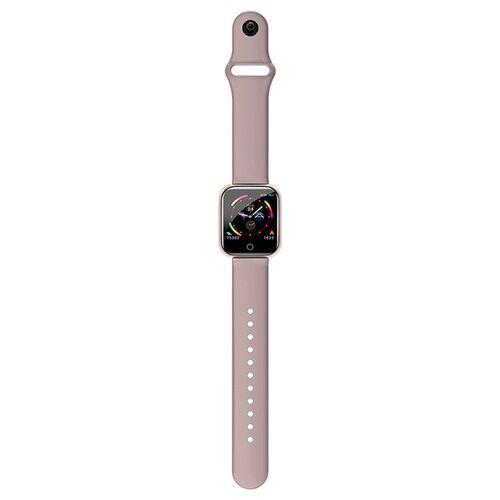 I5 Rate-pressure Sporttevékenységmérő Vezetéknélküli Okosóra - Rózsaszín
