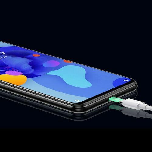 EU ECO Raktár - OUKITEL C19 4G Smartphone Android 10 2GB RAM 16GB ROM 6.49 inch HD + 13.0MP + 2.0MP + 2.0MP előlapi Camera 4000mAh - Kék