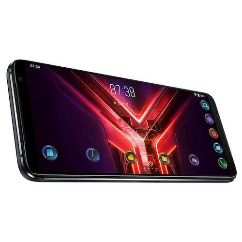 EU ECO Raktár - ASUS ROG Phone 3 Gaming 5G Okostelefon 6.59 inch Nemzetközi verzió - Fekete 12GB RAM +256GB ROM