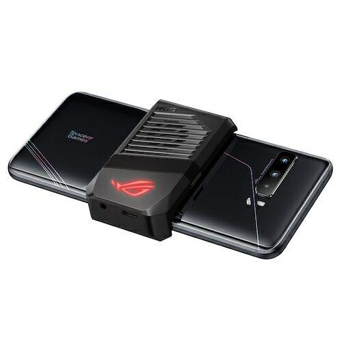EU ECO Raktár - ASUS ROG Phone 3 Gaming 5G Okostelefon 6.59 inch Nemzetközi verzió - Fekete 12GB RAM + 512GB ROM