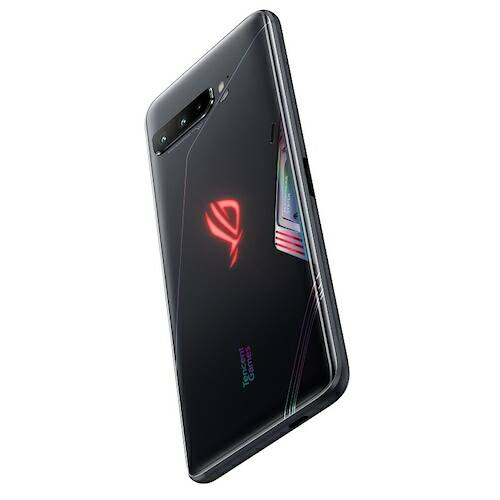 EU ECO Raktár - ASUS ROG Phone 3 Gaming 5G Okostelefon 6.59 inch Nemzetközi verzió - Fekete 16GB RAM + 512GB ROM