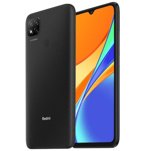 Xiaomi Redmi 9C 4G Smartphone 6.53 inch Media Tek Helio G35 2.3GHz Octa-core 13MP AI Triple Camera 5000mAh 3GB RAM 64GB ROM - Szürke