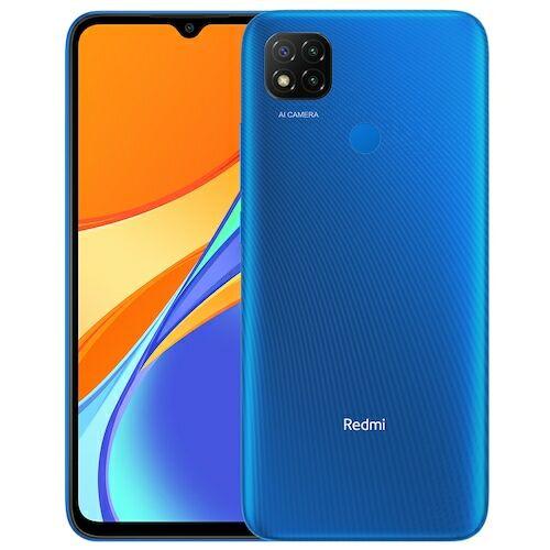 Xiaomi Redmi 9C 4G Smartphone 6.53 inch Media Tek Helio G35 2.3GHz Octa-core 13MP AI Triple Camera 5000mAh 3GB RAM 64GB ROM - Kék