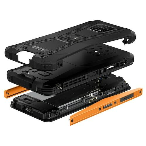 EU ECO Raktár - Ulefone Armor 8 6.1 inch 4G Okostelefon 4GB RAM 64GB ROM Android 10, Helio P60 Octa Core - Narancs