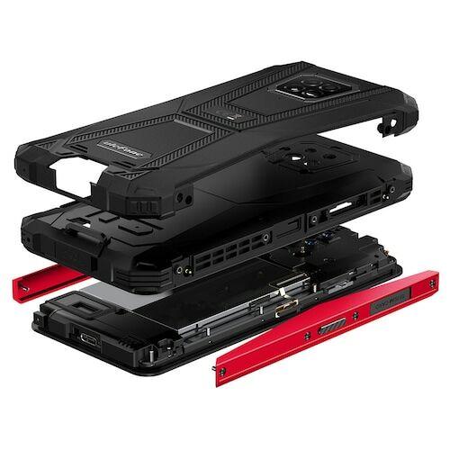 EU ECO Raktár - Ulefone Armor 8 4G 6.1 inch Okostelefon Android 10, Helio P60 Octa Core, 2.0GHz, 4GB RAM 64GB ROM - Piros
