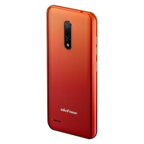 EU ECO Raktár - Ulefone Note 8 3G 5.5 inch Okostelefon Android 10 Go, Quad-core, 5MP + 2MP Rear Camera, 2700mAh Akkumulátor - Narancs