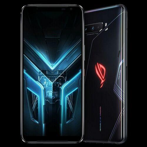 EU ECO Raktár - ASUS ROG Phone 3 Gaming 5G Okostelefon6.59 inch Android 10 Snapdragon 865 Globális verzió - Fekete 16GB RAM + 512GB ROM
