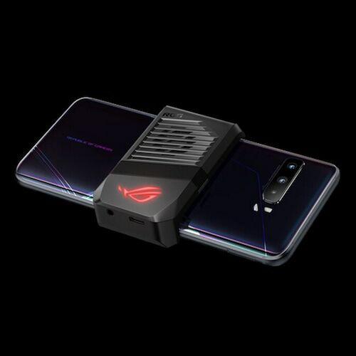 EU ECO Raktár - ASUS ROG Phone 3 Gaming 5G Okostelefon6.59 inch Android 10 Snapdragon 865 Globális verzió - Fekete 8GB RAM + 256GB ROM