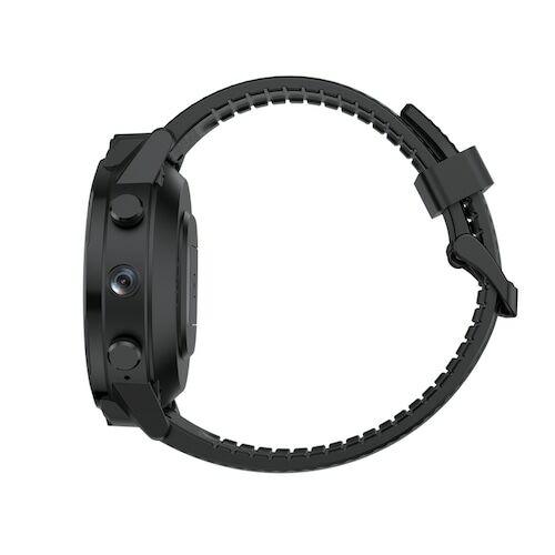 EU ECO Raktár - ALLCALL Awatch GT2 Vezetéknélküli 4G Karóra Mobil 1.6 Inch 400 X 400 HD Felbontású Kijelzővel 3GB RAM 32GB ROM - Fekete