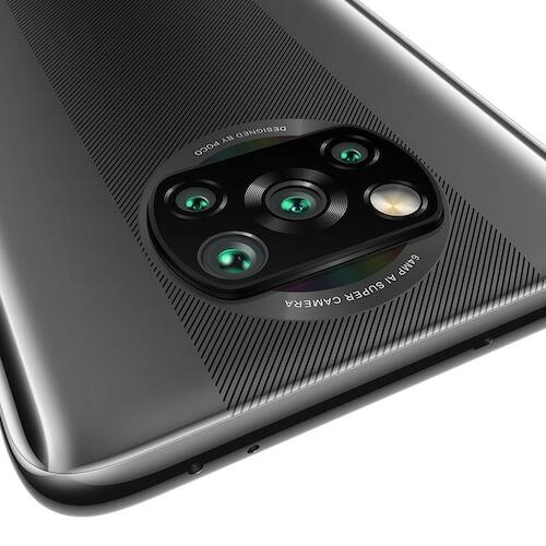 EU ECO Raktár - Xiaomi POCO X3 4G Okostelefon 6.67 inch Snapdragon 732G Octa-core CPU 64MP + 13MP + 2MP + 2MP 5160mAh Battery Capacity Support NFC 6 GB RAM + 128GB ROM - Fekete