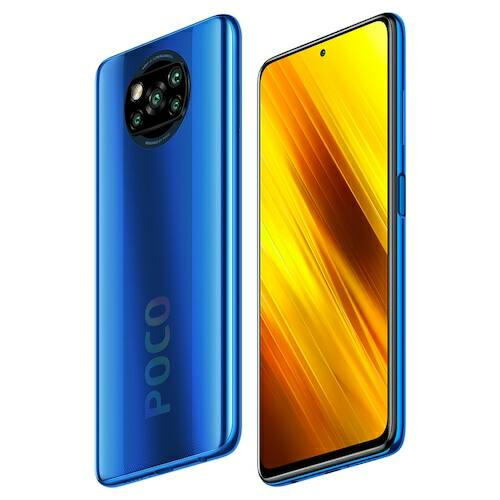 EU ECO Raktár - Xiaomi POCO X3 4G Okostelefon 6.67 inch Snapdragon 732G Octa-core CPU 64MP + 13MP + 2MP + 2MP 5160mAh Battery Capacity Support NFC 6 GB RAM + 128GB ROM - Kék