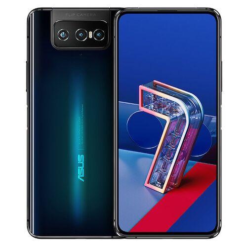 EU ECO Raktár - ASUS Zenfone 7 Pro 5G Okostelefon 8GB RAM 256GB ROM Snapdragon 865Plus 64MP + 12MP + 8MP előlapi Camera 5000mAh NFC Android 10 6.67-inch 90Hz Globális verzió - Fekete