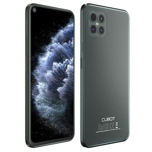 EU ECO Raktár - CUBOT C30 4G Smartphone Helio P60 Octa-core 6.4 inch 48MP + 16MP + 5MP + 0.3MP előlapi 32MP Front Camera Android 10 4200mAh Battery NFC Globális verzió - Zöld 8GB RAM + 128GB ROM