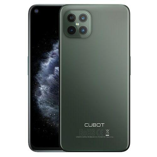 EU ECO Raktár - CUBOT C30 4G Smartphone Helio P60 Octa-core 6.4 inch 48MP + 16MP + 5MP + 0.3MP előlapi 32MP Front Camera Android 10 4200mAh Battery NFC Globális verzió - Fekete 8GB RAM + 256GB ROM
