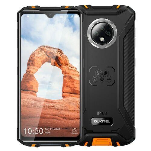 EU ECO Raktár - OUKITEL WP8 Pro NFC IP68 4G OKostelefon Android 10 4GB 64GB 5000mAh 16MP - Narancs