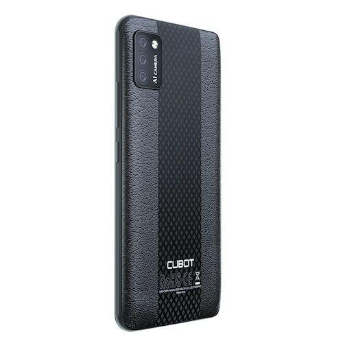EU ECO Raktár - CUBOT NOTE 7 4G Okostelefon MT6737 Quad Core Android 10 2GB RAM 16GB ROM Globális verzió - Fekete