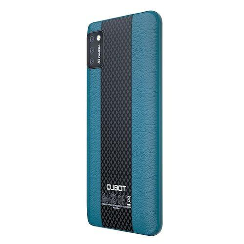 EU ECO Raktár - CUBOT NOTE 7 4G Okostelefon MT6737 Quad Core Android 10 2GB RAM 16GB ROM Globális verzió - Zöld