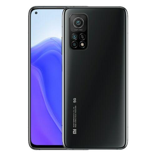 EU ECO Raktár - Xiaomi Mi 10T 5G Okostelefon 6.67 Inch 144Hz AdaptiveSync Display Snapdragon 865 64MP Camera 5000mAh Battery 33W Fast Charge - 8GB RAM 128GB ROM - Fekete