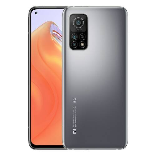 EU ECO Raktár - Xiaomi Mi 10T 5G Okostelefon 6.67 Inch 144Hz AdaptiveSync Display Snapdragon 865 64MP Camera 5000mAh Battery 33W Fast Charge - 6GB RAM 128GB ROM - Ezüst