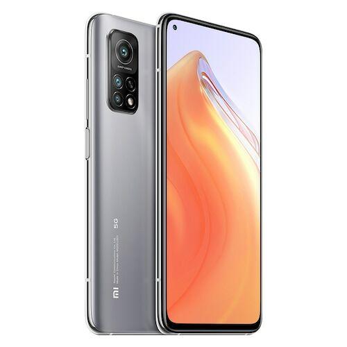EU ECO Raktár - Xiaomi Mi 10T 5G Okostelefon 6.67 Inch 144Hz AdaptiveSync Display Snapdragon 865 64MP Camera 5000mAh Battery 33W Fast Charge - 8GB RAM 128GB ROM - Ezüst