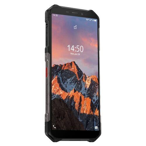 EU ECO Raktár - Ulefone Armor X5 Pro Rugged Vízálló Smartphone 4GB + 64GB Android 10.0 Cell Phone NFC 4G LTE Phone Globális verzió - Fekete