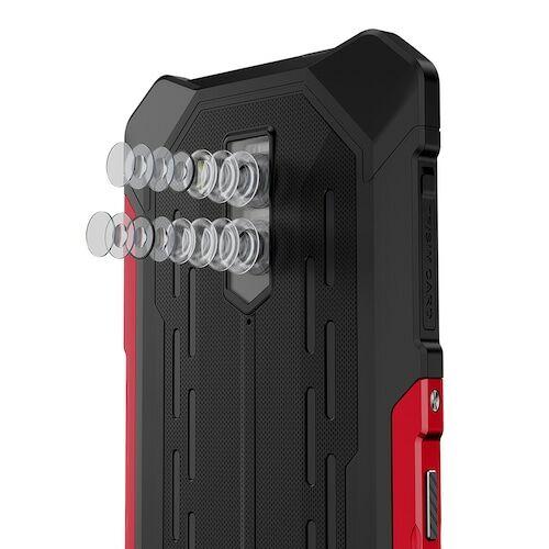 EU ECO Raktár - Ulefone Armor X5 Pro Rugged Vízálló Smartphone 4GB + 64GB Android 10.0 Cell Phone NFC 4G LTE Phone Globális verzió - Piros