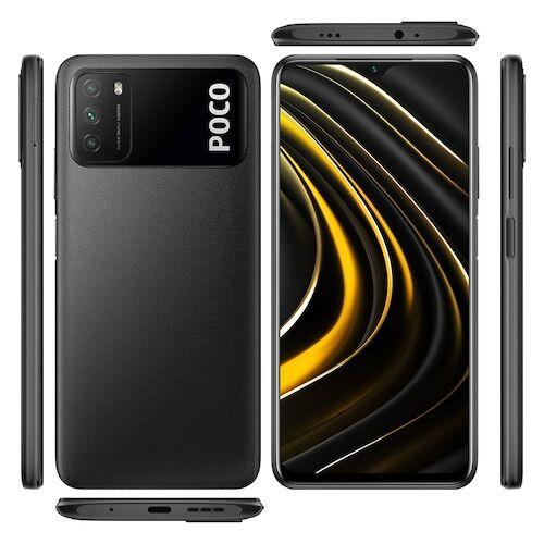 EU ECO Raktár - Xiaomi Poco M3 4G Okostelefon Qualcomm Snapdragon 662 6.53 Inch Screen Triple Camera 48MP + 2MP + 2MP 6000mAh Battery - Fekete 4GB RAM + 128GB ROM