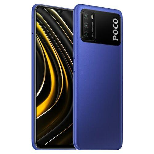 EU ECO Raktár - Xiaomi Poco M3 4G Okostelefon Qualcomm Snapdragon 662 6.53 Inch Screen Triple Camera 48MP + 2MP + 2MP 6000mAh Battery - Kék 4GB RAM + 128GB ROM