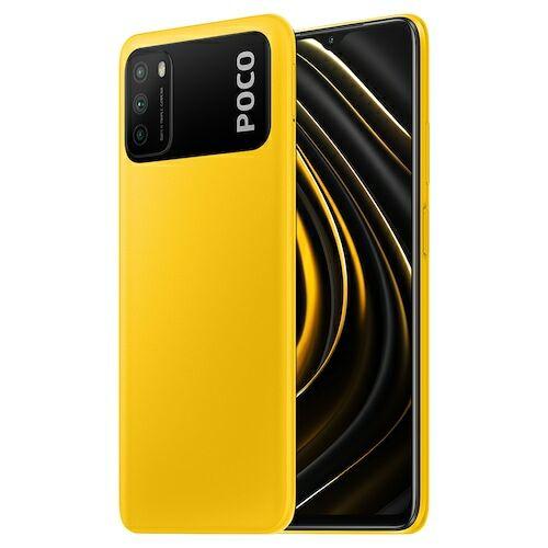 EU ECO Raktár - Xiaomi Poco M3 4G Okostelefon Qualcomm Snapdragon 662 6.53 Inch Screen Triple Camera 48MP + 2MP + 2MP 6000mAh Battery - Sárga 4GB RAM + 128GB ROM