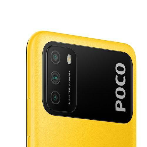 EU ECO Raktár - Xiaomi Poco M3 4G Okostelefon Qualcomm Snapdragon 662 6.53 Inch Screen Triple Camera 48MP + 2MP + 2MP 6000mAh Battery - Sárga 4GB RAM + 64GB ROM