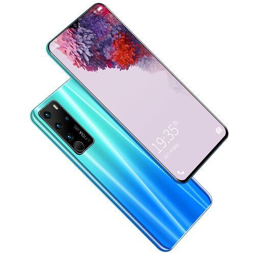 EU ECO Raktár - P47 4G Okostelefon MTK6792 6.7 Inch 2GB RAM 32GB ROM Android 6.0 13MP 24MP Cameras 4800mah Battery Face ID - Kék