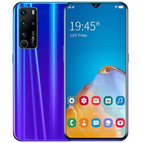 EU ECO Raktár - P47 4G Okostelefon MTK6792 6.7 Inch 2GB RAM 32GB ROM Android 6.0 13MP 24MP Cameras 4800mah Battery Face ID - Lila