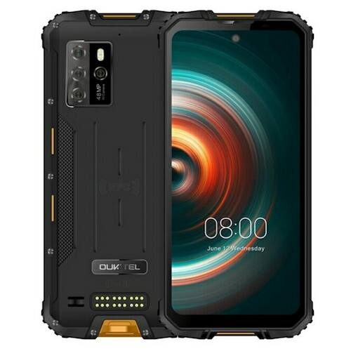 EU ECO Raktár - Oukitel WP10 5G Rugged Phone Okostelefon 8000mAh 6.67 Inch FHD Teljes Screen 8GB 128GB Quad Camera 48MP - Narancs