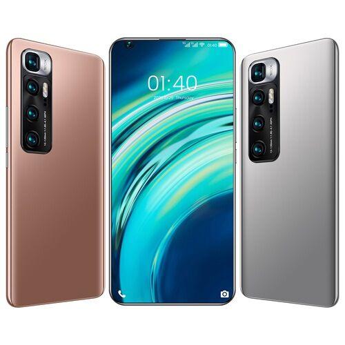 EU ECO Raktár - M10 Ultra 4G Okostelefon MT6889 Octa Core 7.2 inch 2GB RAM 32GB ROM Android 9.1 8MP + 12MP Cameras 4800mah Battery Face ID Fingerprint Recognition with WiFi + BT + FM + GPS - Fekete
