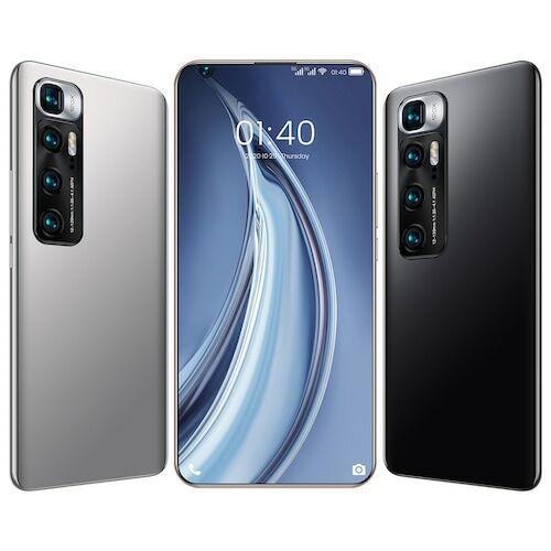 EU ECO Raktár - M10 Ultra 4G Okostelefon MT6889 Octa Core 7.2 inch 2GB RAM 32GB ROM Android 9.1 8MP + 12MP Cameras 4800mah Battery Face ID Fingerprint Recognition with WiFi + BT + FM + GPS - Arany