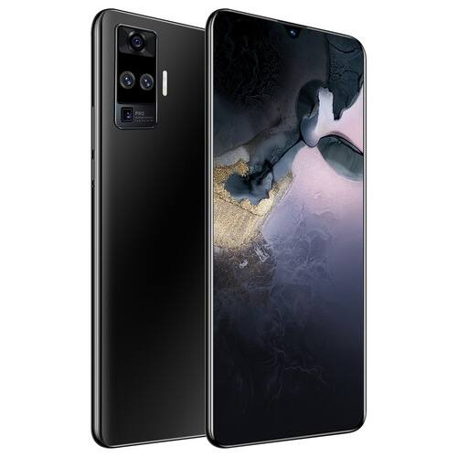 EU ECO Raktár - X60 Pro 4G Okostelefon MT6580 6.6 inch 2GB RAM 32GB ROM Android 9.1 8MP + 16MP Cameras 4000mAh Battery Face ID with WiFi + BT + FM + GPS - Fekete