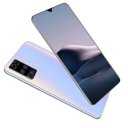 EU ECO Raktár - X60 Pro 4G Okostelefon MT6580 6.6 inch 2GB RAM 32GB ROM Android 9.1 8MP + 16MP Cameras 4000mAh Battery Face ID with WiFi + BT + FM + GPS - Kék