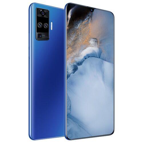 EU ECO Raktár - X60 Pro 4G Okostelefon MT6580 6.6 inch 2GB RAM 32GB ROM Android 9.1 8MP + 16MP Cameras 4000mAh Battery Face ID with WiFi + BT + FM + GPS - Sötétkék