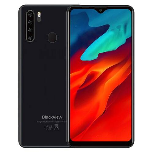 EU ECO Raktár - BlackView A80 Pro 6.49 inch HD+ Display 4680mAh Android 9.0 13MP Quad előlapi Camera 4GB 64GB Helio P25 Octa Core 4G Okostelefon - Piros