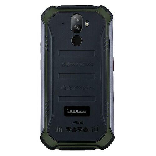 EU ECO Raktár - Doogee S40 Pro 5.45 inch IP68 / IP69K Vízálló NFC Android 10.0 4650mAh 13MP 4GB RAM 64GB ROM Helio A25 4G Okostelefon - Zöld