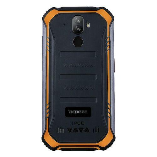EU ECO Raktár - Doogee S40 Pro 5.45 inch IP68 / IP69K Vízálló NFC Android 10.0 4650mAh 13MP 4GB RAM 64GB ROM Helio A25 4G Okostelefon - Narancs